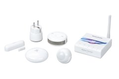 Комплект умного дома Fibaro Starter KIT EU, Z-Wave, состав: FGHCL + 5 датчиков (FGHCL-KIT-EU)
