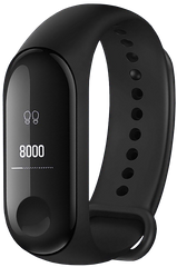 Фитнес браслет Xiaomi Mi Band 3 Black Global
