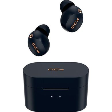 Наушники QCY HT01 ANC TWS Bluetooth Earbuds Dark Blue