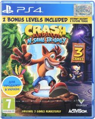 Игра PS4 Crash Bandicoot N'sane Trilogy [Blu-Ray диск] (88222EN)