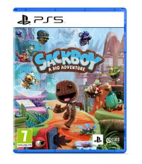 Игра PS5 Sackboy a Big Adventure [Blu-Ray диск] (9826729)